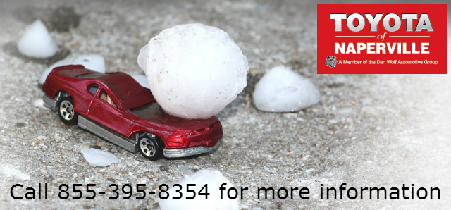hail damage repair in Naperville. IL